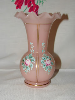 Fenton Charleton Pink Vase