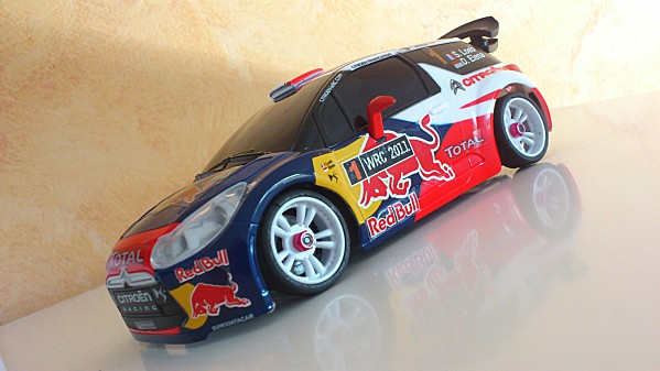 Kyoshosan Auldey Citroen Ds3 Wrc Fitted To Mini Z Awd