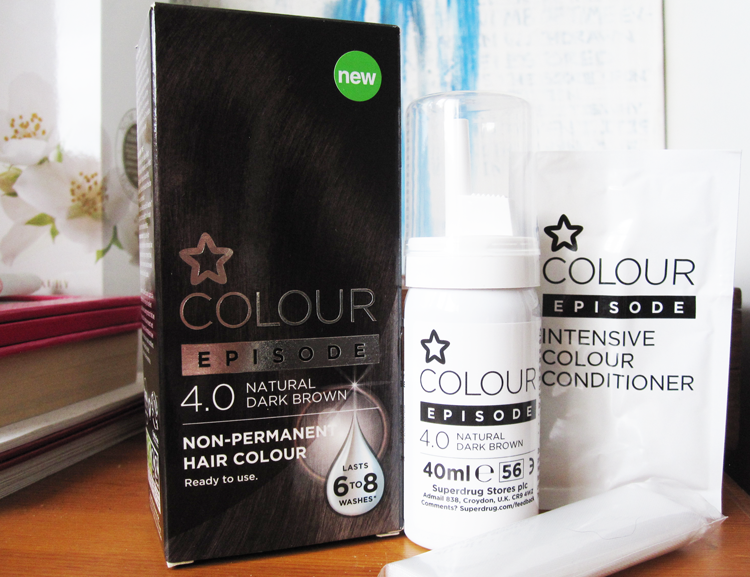 A picture of Superdrug Colour Episode Natural Dark Brown 4.0