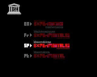 Matemáticas Experimentales. UNESCO
