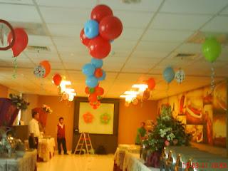 bunga balon gantung