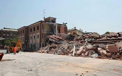 escombros por terremoto