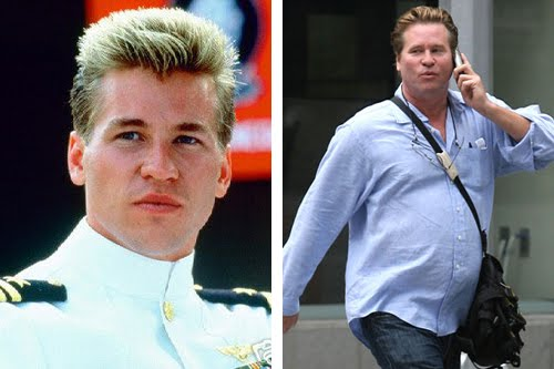 list of celebs  list of celebs then and now  val kilmer