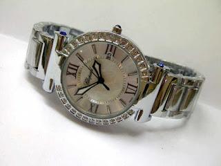 jam tangan chopard silver