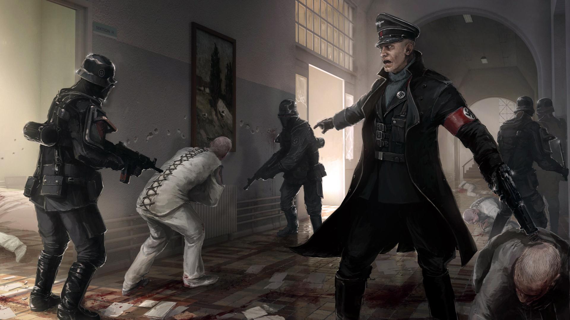 wolfenstein the new order 8v wallpaper hd