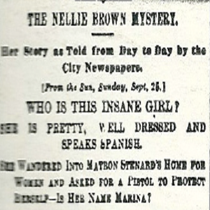 The Nellie Brown mystery in the New York Sun (New York World 9 oct 1887)