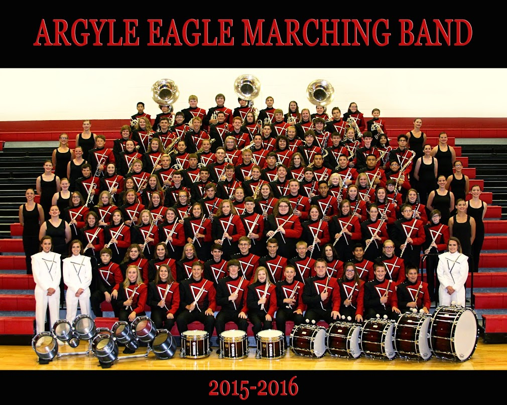 Argyle Eagle Marching Band 2015-16