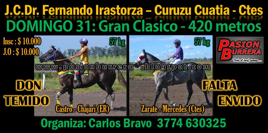 CURUZU CUATIA - 420 metros