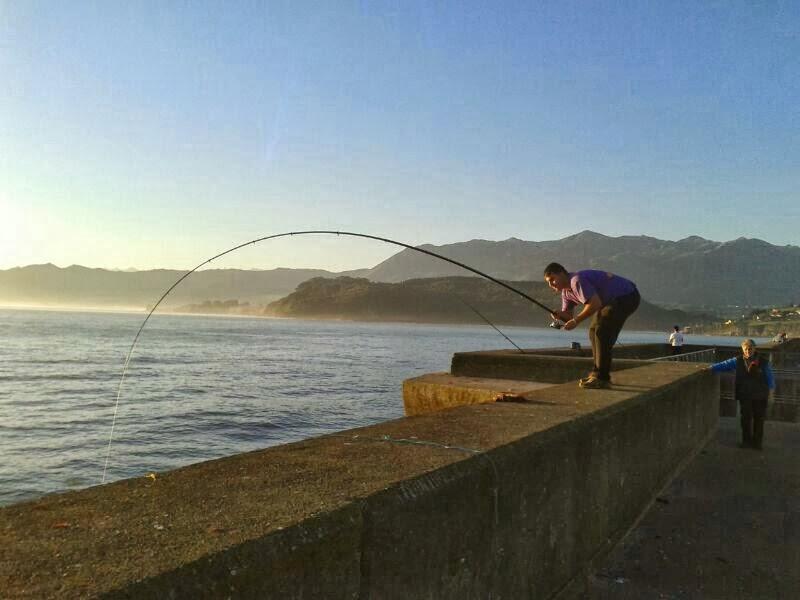 Pescando por Asturias