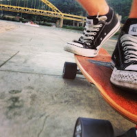 Longboarding in Pittsburg