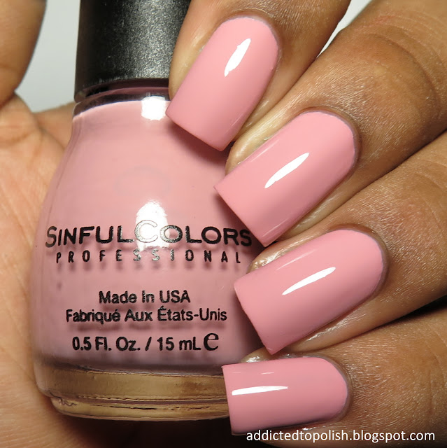 sinful colors pink break