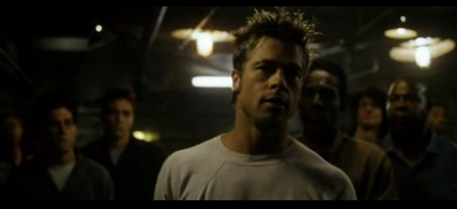 literary analysis of fight club When fight club opens, the narrator and tyler durden are at the top of the parker-morris building, the tallest building in the world tyler durden has a gun in his mouth tyler and the narrator.