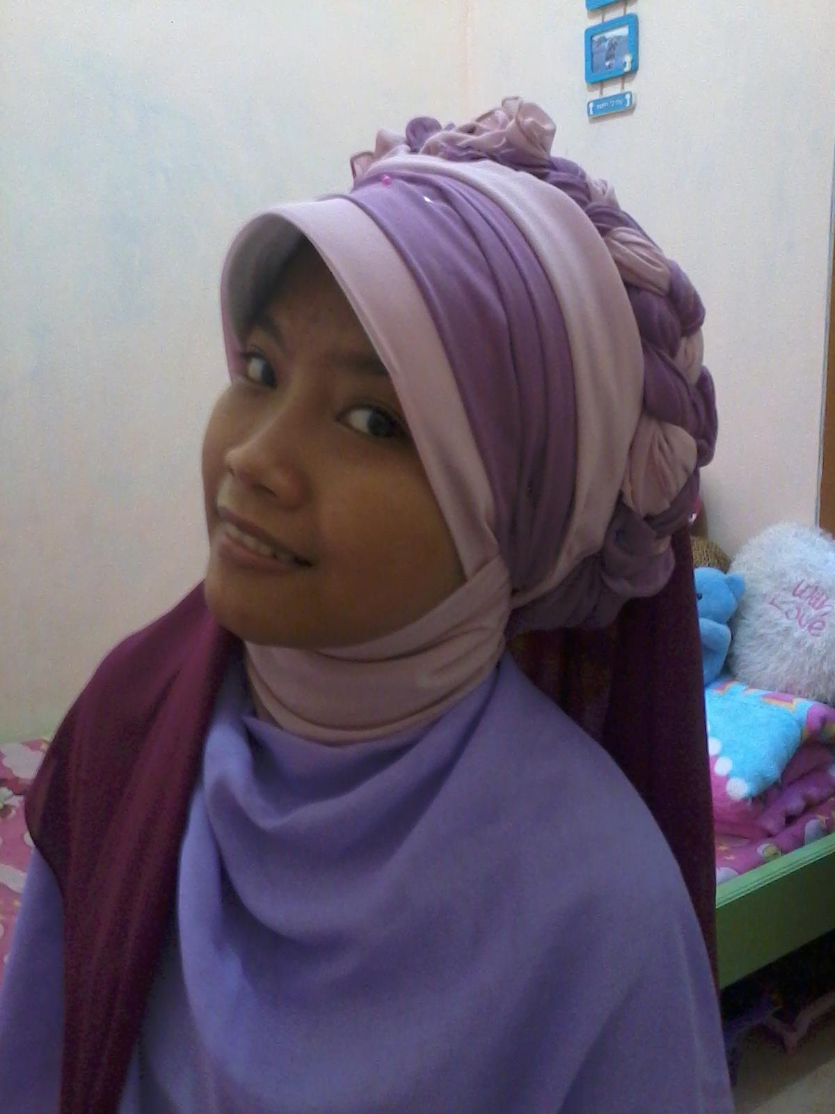 cara memakai jilbab untuk kebaya youtube