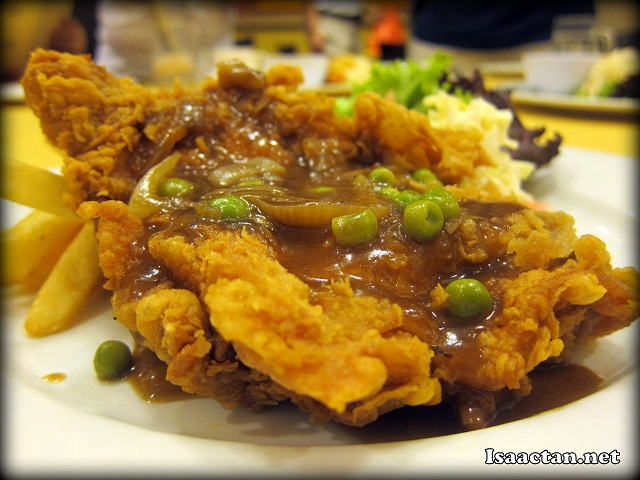 #2 Hainanese Chicken Chop - RM15.90