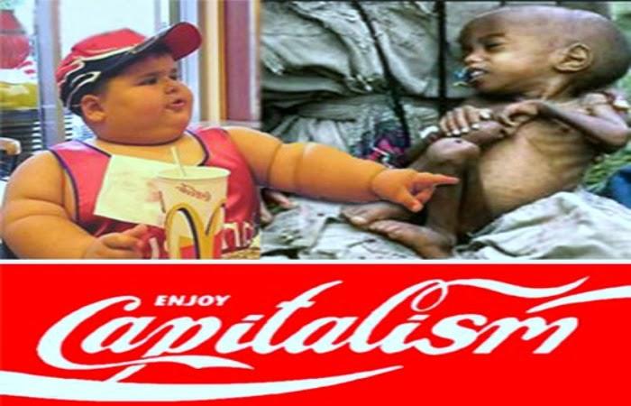 Obraz: Adbusting Coca-Cola Enjoy capitalism