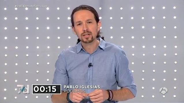 Pablo Iglesias gana el debate