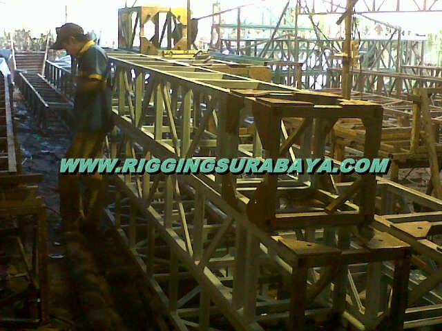 pembuatan tenda rigging stage berkualitas