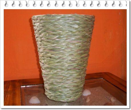 Cara Membuat Vas Bunga Dari Rotan Nurholifah