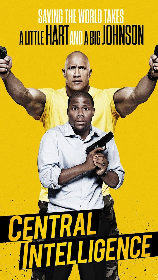 Central Intelligence Poster Galaxy Note HD Wallpaper
