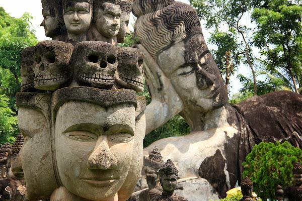 Buddha Park (parque Buda Xieng Khuan) de Vientian
