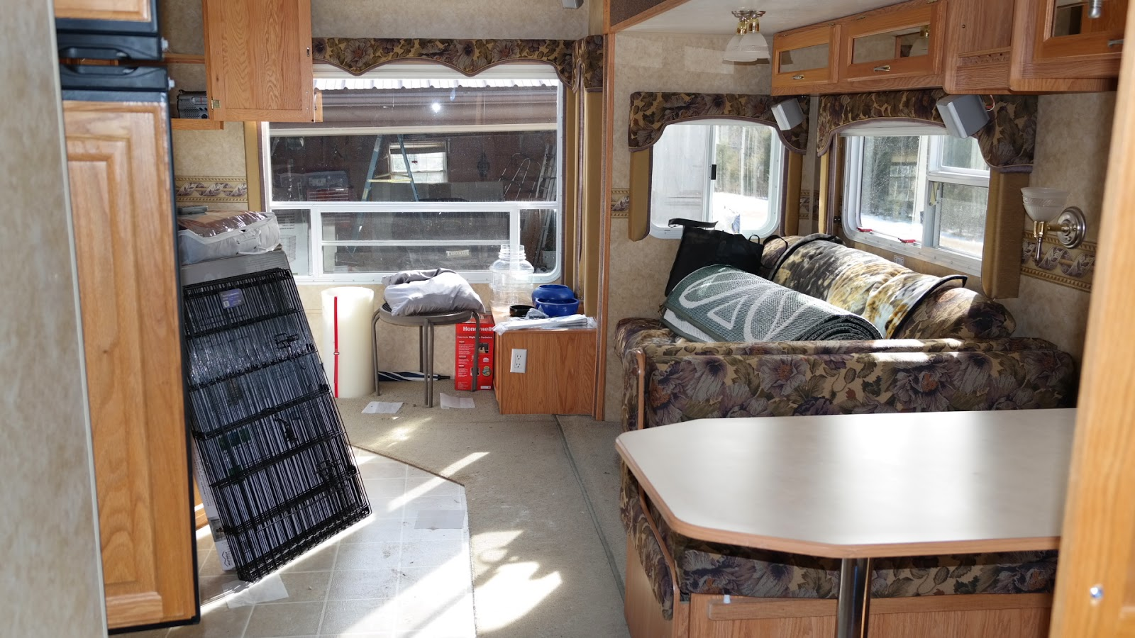 Getting the Camper Ready for Spring