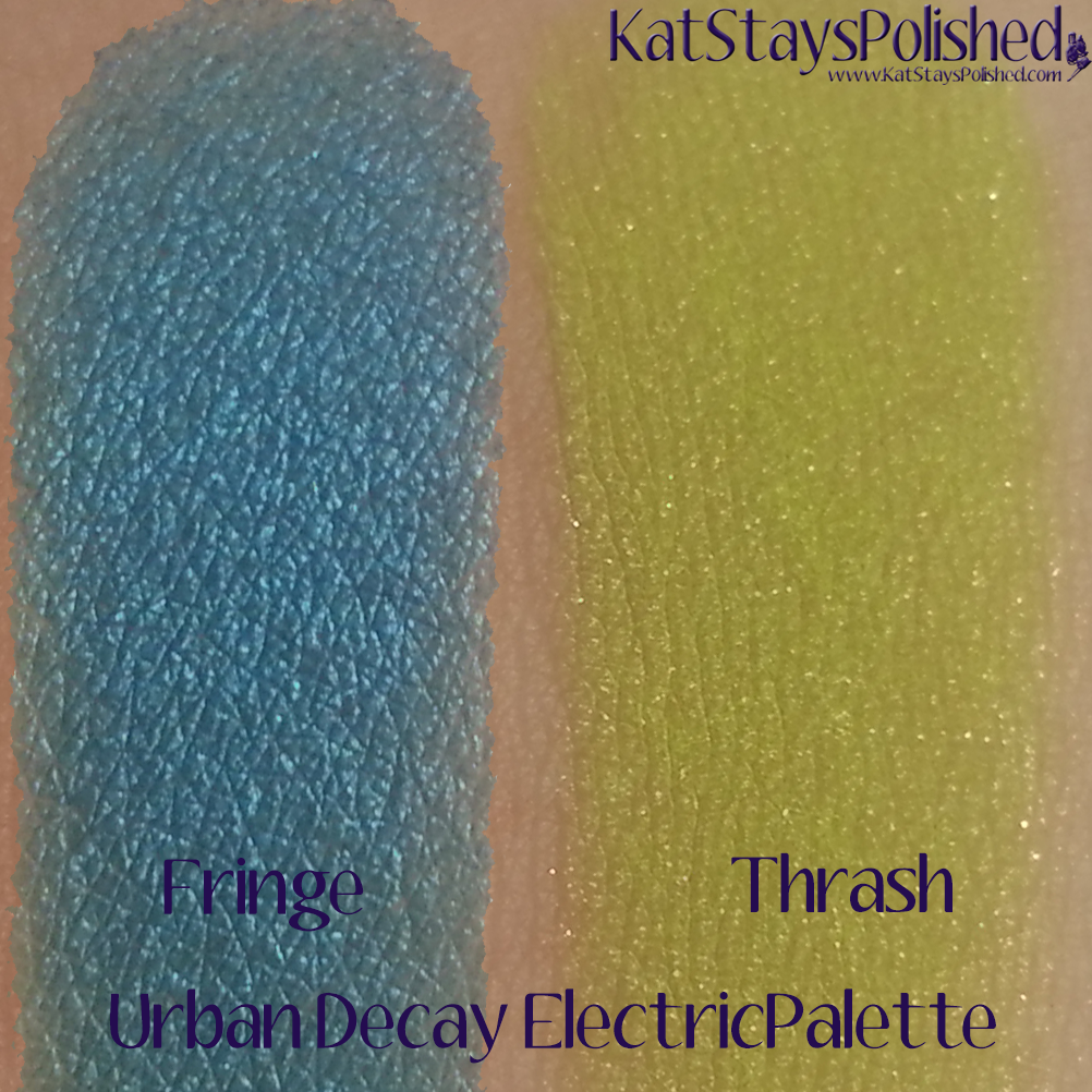 Urban Decay Electric Palette - Fringe and Thrash | Kat Stays Polished