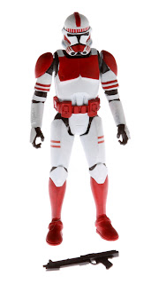 "Hasbro Star Wars Saga Legends 3.75"" Clone commander figure"