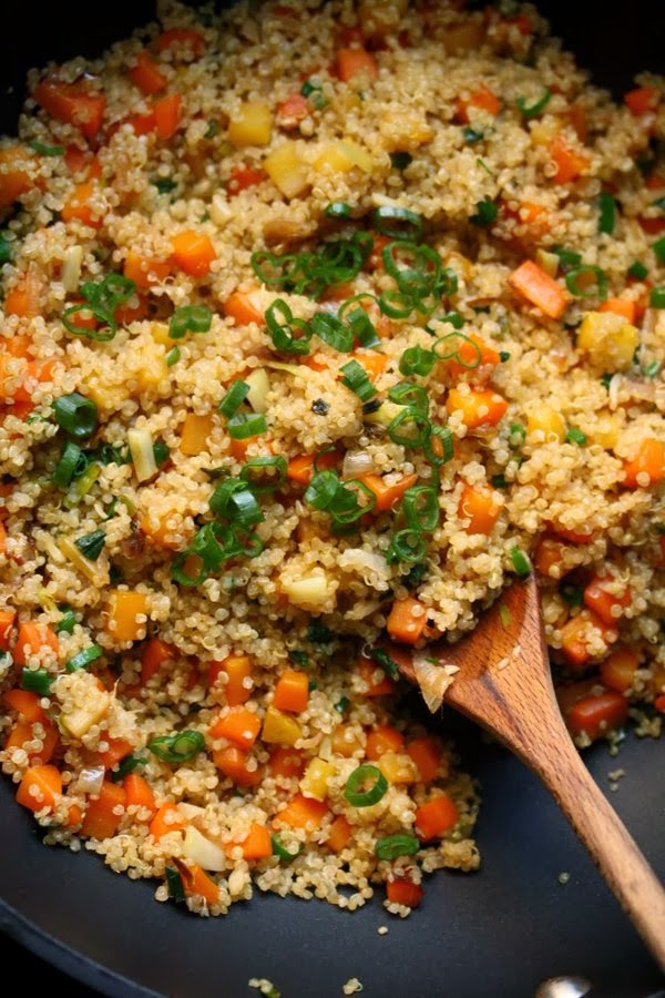 Easy Fried Rice Quinoa Recipe
