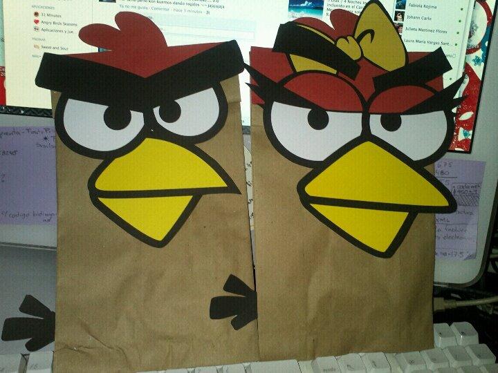 Mili's Corner: Fiesta de Angry Birds