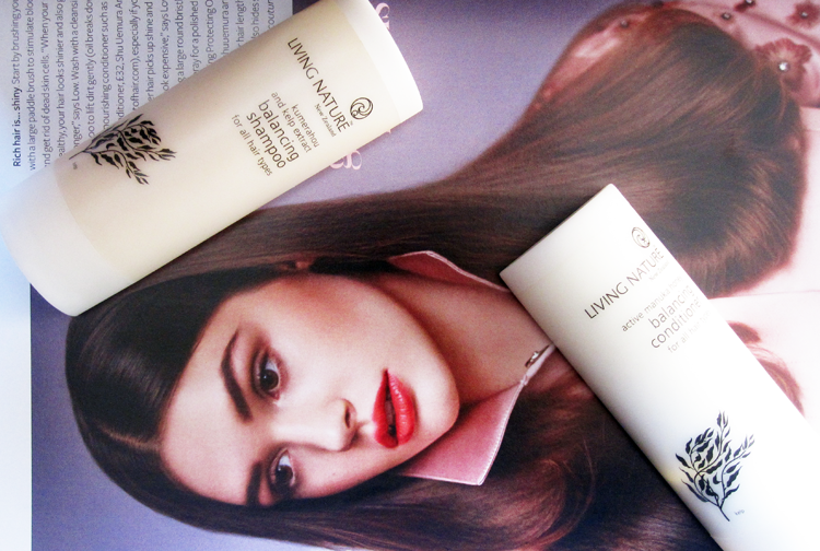 Haircare Review: Living Nature Balancing Shampoo and Conditioner