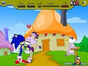 Sonic hôn, game vui