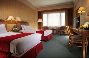 Sebuah Kamar Hotel Grand Quality Yogyakarta