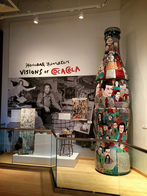 world of coca cola howard finster