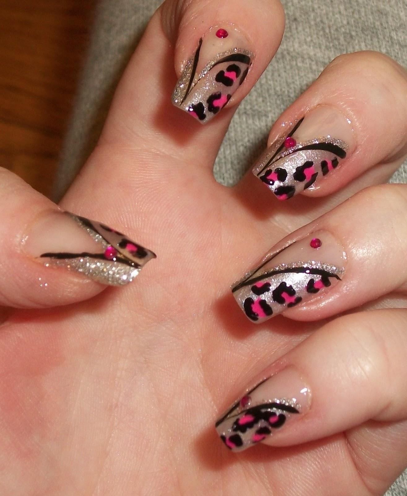 Diy Snow Leopard Nail Art: Love4NailArt: Snow Leopard Nail Art