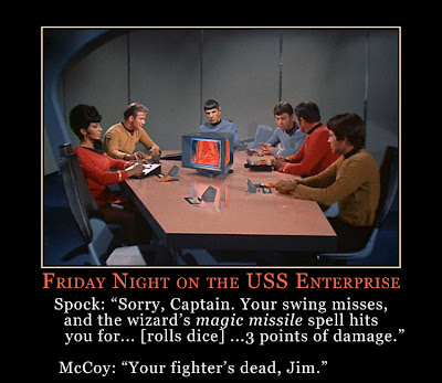 Friday Night on the USS Enterprise