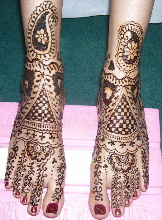 Bridal Mehndi Collection : Japanese style tattoo beautiful bridal mehndi designs