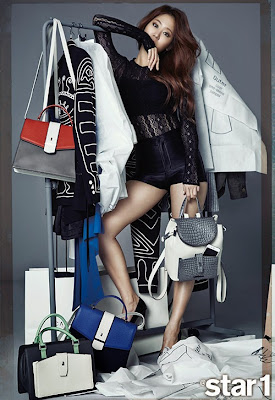 Soyu SISTAR - Star1 Magazine April Issue 2015