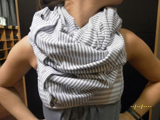 lululemon vinyasa scarf silver spoon print