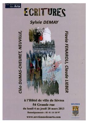 exposition de groupe  hôtel de ville de Sèvres