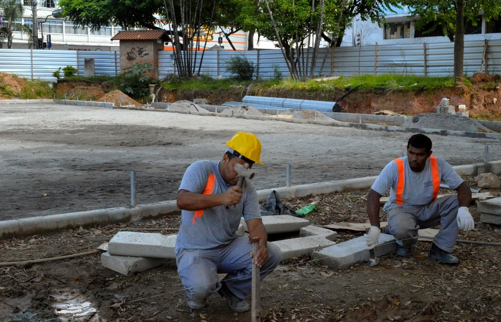 Prefeitura de Teresópolis dá andamento às obras da Praça Olímpica