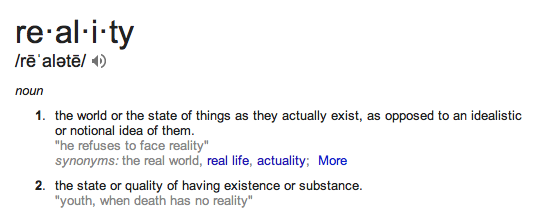 the definition of reality Reality definition, the state or quality of being real see more.