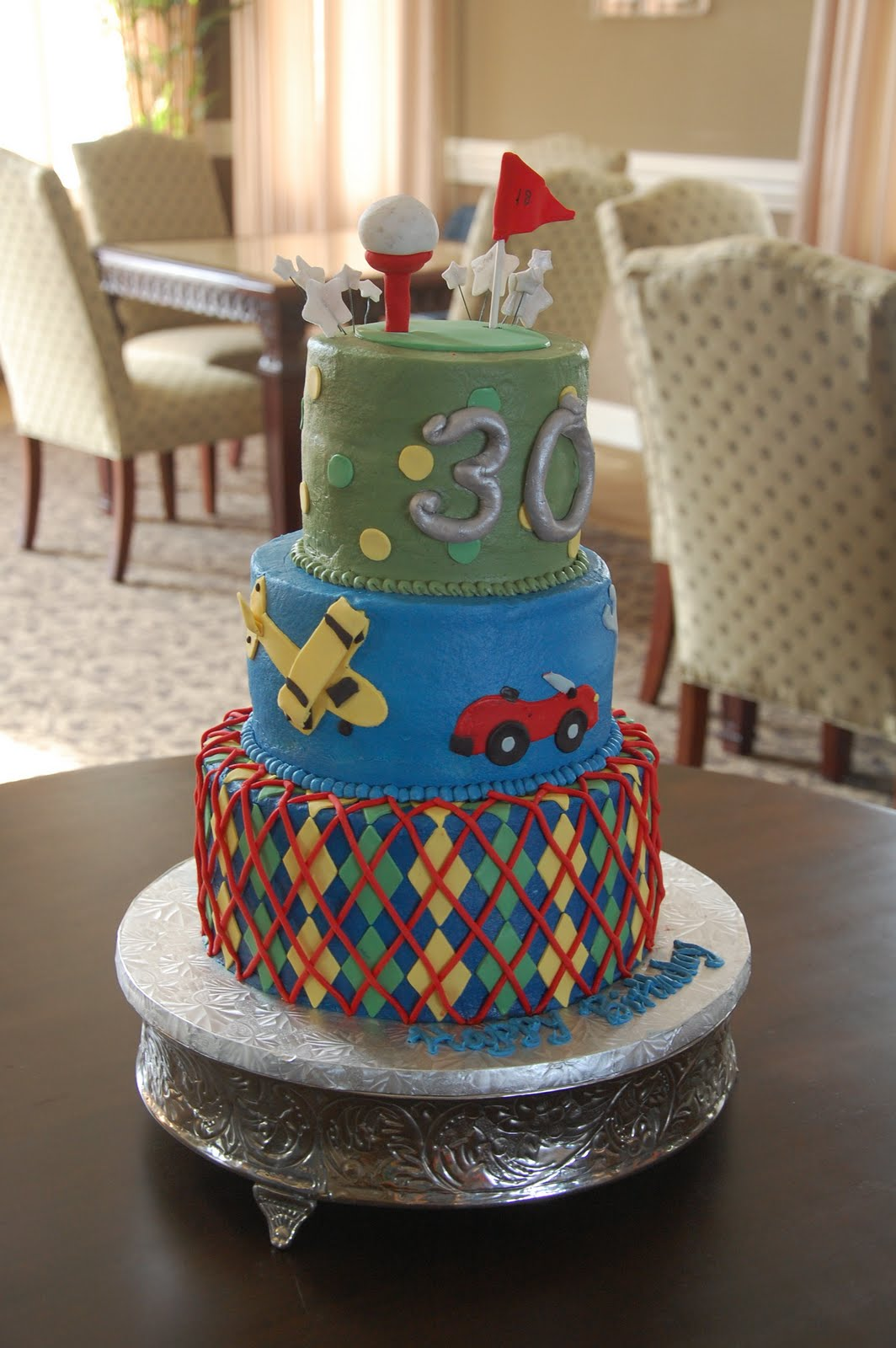 Angela Bartons Cakes Surprise Happy Birthday