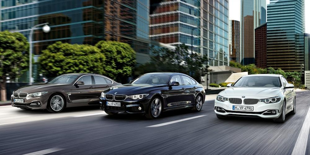 BMW 4シリーズグランクーペの3つのライン