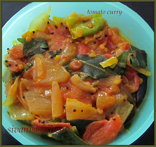 Tomato curry