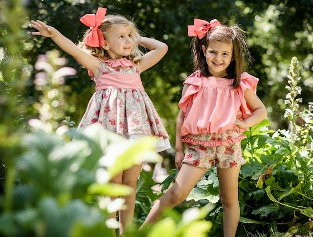 Color Coral - Para Sofia moda infantil