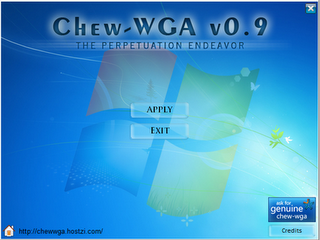 Chew WGA v 0.9 Hilangkan Windows is not Genuine (Windows 7)