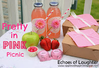Pretty Pink  Picnic For Spring