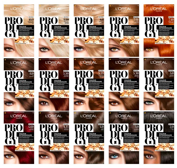 ... Prodigy 1st Micro-Oil Tehnologie Permanent Hair color WITHOUT AMMONIA