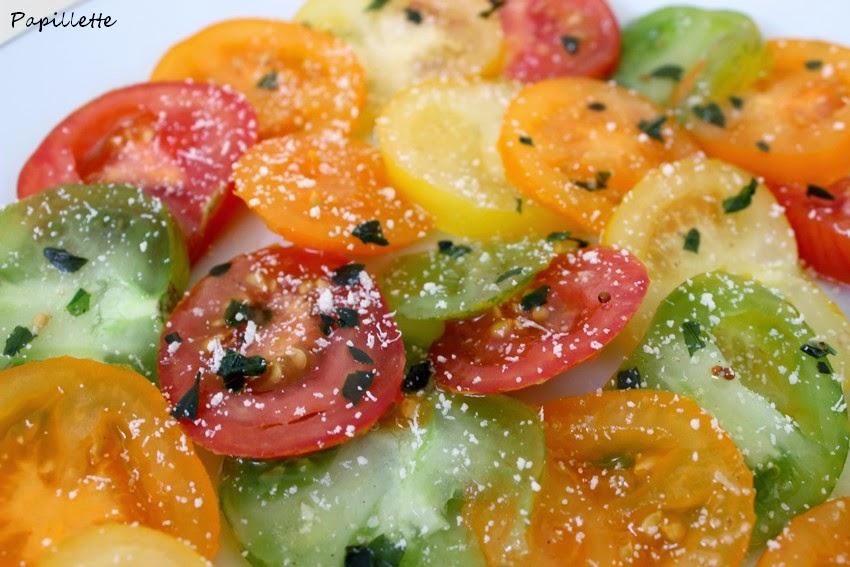 tomate multicolore