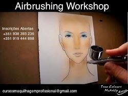 """Airbrushing MakeUp ( Alta Definição) - """"O futuro da Maquilhagem"""""""
